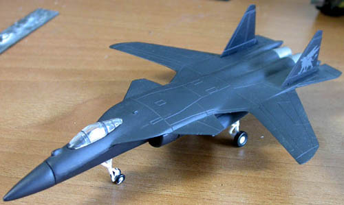 1/144 Su-47(S-37)  berkut
